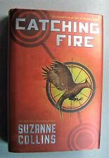 Hunger Games Catching Fire by Suzanne Collins, Hardback in Excellent Condition