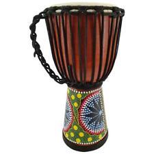 40cm Profi Djembe Trommel Bongo Mahagoni Holz Drum Fair Trade Guter Klang