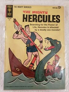 1963 The Mighty Hercules Gold Key Comic No. 1 VF Condition
