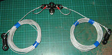 MONO BAND DIPOLE FOR 40 METERS Wire Antenna / Aerial for icom kenwood yaesu