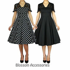 Polka Dot Midi Hand-wash Only Dresses for Women