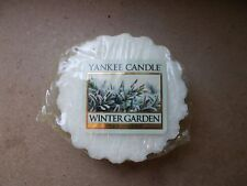 Yankee Candle Usa Rare Winter Garden Wax Tart