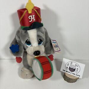 Rare 1987 Collectible Honey Sad Sam Plush Clinton Cards Applause Soft Toy Drum
