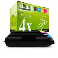 4x MWT Eco Cartuccia Per Kyocera Eco Sistema M-6526-cdn M-6026-cdn P-6026-cdn