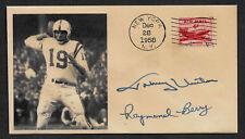 1958 NFL Championship Game Unitas Autograph Reprint Collector's Envelope TK1152