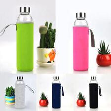 Sport Water Bottle Insulated Sleeve Cover Bag Holder Carrier Case Neoprene Pouch