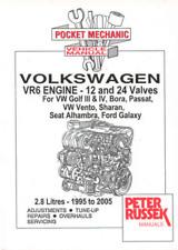VW VR6 Engines Golf Mk3 Mk4 Bora New Workshop Manual Service Repair
