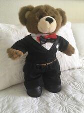 Teddy Bear Adorable Groom Bear Tuxedo Love Build A Bear Groom In Suit