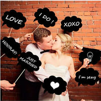 Chalk Board Photography Accessories For Wedding Party Event Photo Booth Props