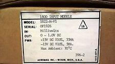 Acromag 1822-M-V1 Input Module