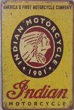 INDIAN Rustic Vintage Retro Tin Signs Man Cave, Shed & Bar -Garage Sign