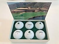 New Titleist Vintage Golf Balls Grand Waikapu Resort Hawaii Gift Set of 6