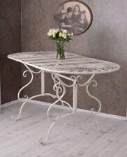 Gartentisch Im Jugendstil Tisch Metall WEISS Vintage Eisentisch