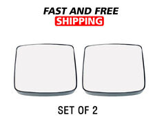 Volvo VNL Mirror Lower Small Glass Blind Spot Heated Set of 2 Right 2014 018