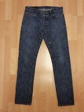 Public School NYC Raw Blue Denim Made in USA Selvedge Jeans