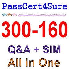 Cisco Best Practice Material For  300-160 Exam Q&A PDF+SIM