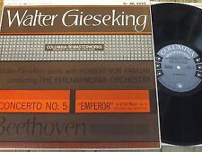 ML 4623 Beethoven Piano Concerto No. 5 / Gieseking / Karajan US 6-eye