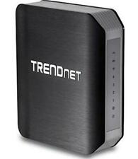 TRENDnet AC1750 TEW-812DRU Dual Band 1300Mbps AC + 450Mbps N Wireless Router Blk