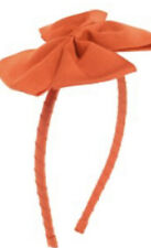 Nwt Gymboree Fall All About Buttons Orange Headband Bts Thanksgiving
