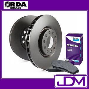 FORD TERRITORY TS TX GHIA -  RDA Front Brake Disc Rotors & BENDIX ULTIMATE Pads