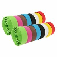 2Pcs Solid Color Antiskid Soft Sponge Cycling Bike Bicycle Handle Belt Bandage