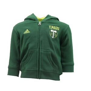 Portland Timbers Official MLS Adidas Baby Infant Size Hooded Sweatshirt New Tags