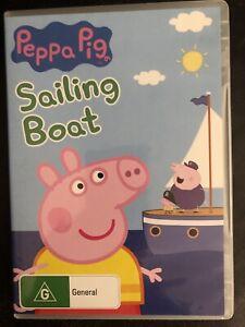 Peppa Pig Sailing Boat DVD Region 4