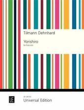 Tilmann Dehnhard: Yorishiro for flute Music Book-German/English-Unive rsal-New!