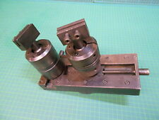 HIRSCHMANN Spannplatte 62.2  mit zwei beweglichen Elektroden - Klemmhaltern