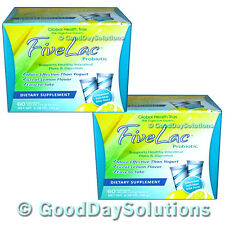 (2)  Fivelac for sale candida yeast infection probiotics 5lac Global Health Trax