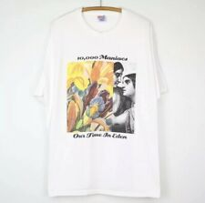 Vintage 1992 10,000 Maniacs Our Time In Eden Shirt Xl