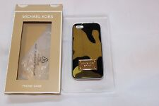 MICHAEL KORS IPHONE 5/5S CASE  ANIMAL LEOPARD HAIRCALF $50  BRAND NEW IN BOX!!!