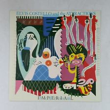 ELVIS COSTELLO Imperial Bedroom FIEND 36 UK LP Vinyl VG++ Sleeve Insert 1984 IMP
