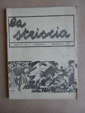 LA STRISCIA n°7 1982  -Fanzine fumetti di Mercuri  [G529] RARO!
