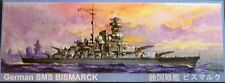 Nichimo 12 Inch 30cm Scale Bismarck  Battleship Model Kit 303