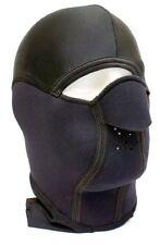 FULL Face Neoprene Ninja Warrior Men/Women Fancy Dress Face Mask 1 Size Senior