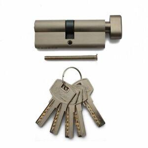Sicherheitsschloss Knaufzylinder Profilzylinder 80 mm 40/40