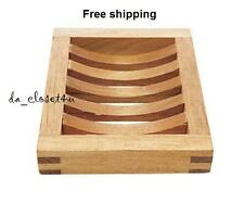 Brand NEW IKEA Soap Holder Soap Dish Solid Wood Birch Molger Bathroom Kitchen