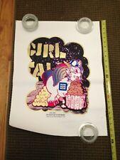 VINTAGE GIRL TALK THE DEATH SET UNICORN POSTER 32/55 TURNER HALL BALLROOM 2008