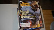 Steve McNair of Alcorn State -Sports illustrated 9/26/1994