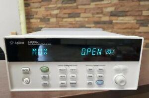 Agilent 34970A Data logger 34901A multiplex / #K L7B 1964