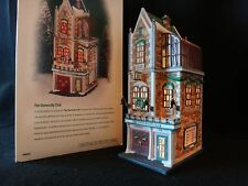 """Dept 56 Christmas in the City """"The University Club"""" retired 2000"""