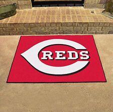 "Cincinnati Reds 34"" x 43"" All Star Area Rug Floor Mat"