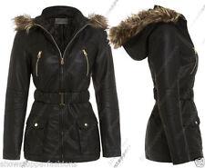 Cappotti e giacche da donna in pelle sintetica taglia 42