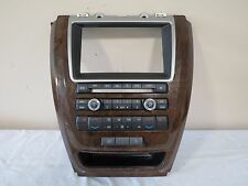 2011-2012 Milan Fusion Climate Control Radio CD Player Panel OEM BE5T-18A802-AC
