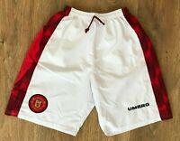 Manchester United 1996 - 1998 rare vintage Umbro shorts size 32 (S-M)