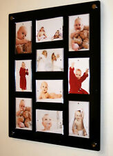 """Picture photo magnetic frame multi 6 x 4"""" /4 x 6 Cheshire acrylic wedding baby"""