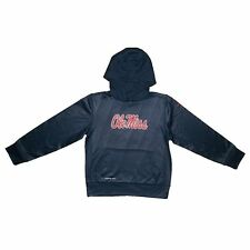 (Youth Small 8) Nike Boys Ole Miss Rebels Mississippi Therma-Fit Hoodie Jacket