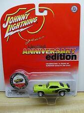 Johnny Lightning JL 10th Anniversary Plymouth Hemi Cuda