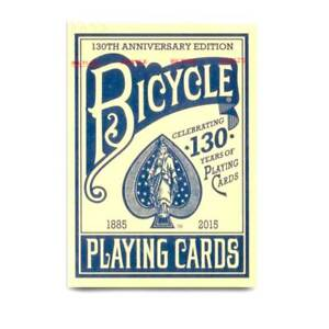 BRAND NEW CARDS - Bicycle 130 year deck (Blue) by US Playing Card Co.